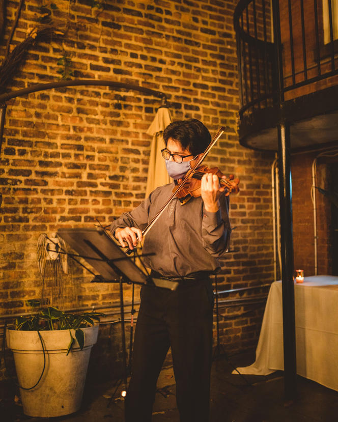 Jeremías Sergiani-Velázquez performs Piazzolla Tango Etudes no. 3 & 4