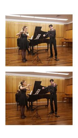 in recital in Buenos Aires