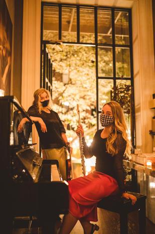 Sonora Artist Director Julia Danitz and Marketing Director Katie Althen