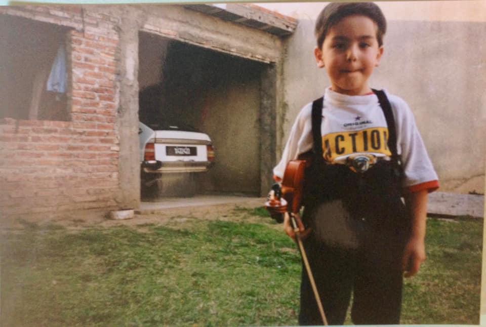 Jeremías Sergiani Velázquez, violin