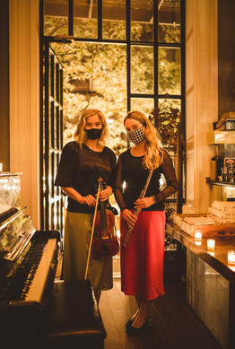 Sonora Collective Artistic Director Julia Danitz and Marketing Director Katie Althen