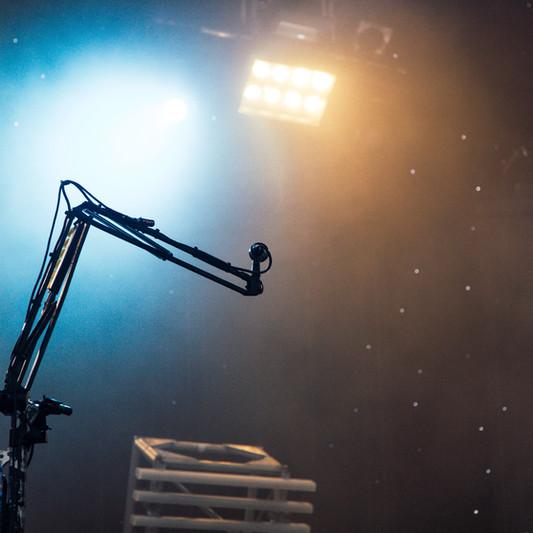 Bühnenbeleuchtung einrichten