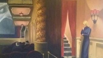 After Edward Hopper - The Usherette (193