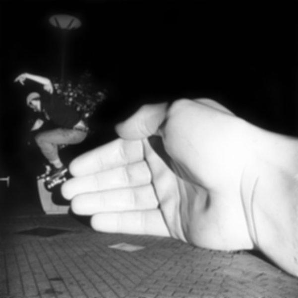 Skateboarding Medium Format Film Santa Rosa California Wes Allen