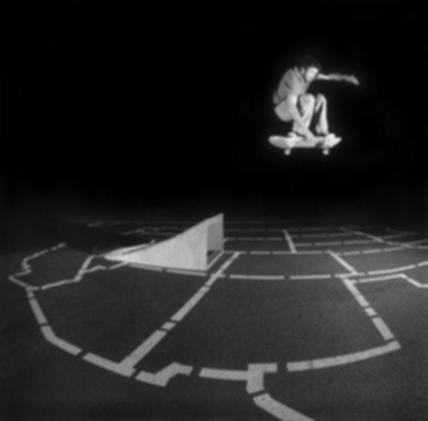 Skateboarding Medium Format Film Santa Rosa California Storm Fogg