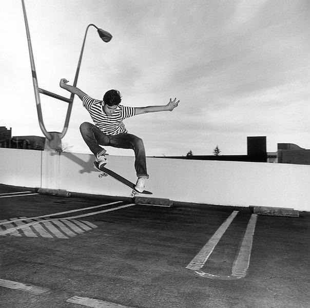 Skateboarding Medium Format Film Santa Rosa California Rafael Aguilar