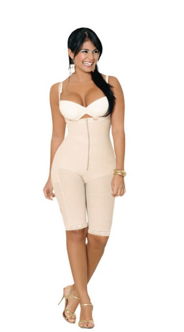 SALOME STRAPLESS LIPOSCULPTURE GIRDLE 0213