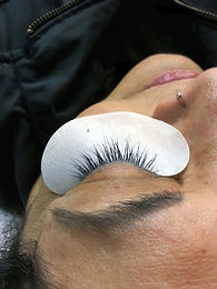 body fx eyelash extensions after