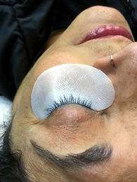 body fx eyelash extensions before