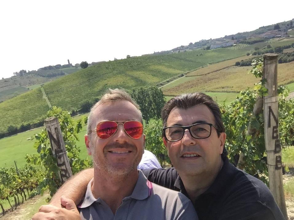 "with Gianpiero Bianco, the ""Philosopher of Barbera"""