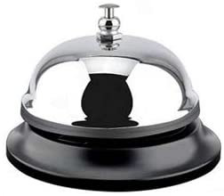 """Large Training Bell - 4"""" x 3"""" -Teach Your Pig to Tap The Bell for A Treat Reward"""
