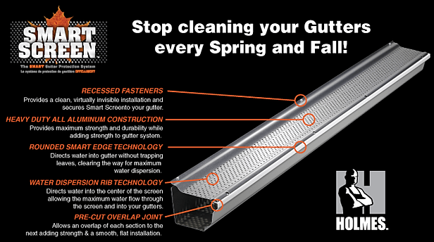 The Smart Screen Gutter Amp Eavestrough Guard Products