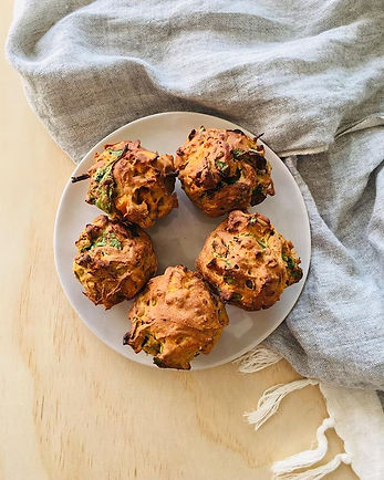 Afternoon savoury muffins_🌿_#homecooked