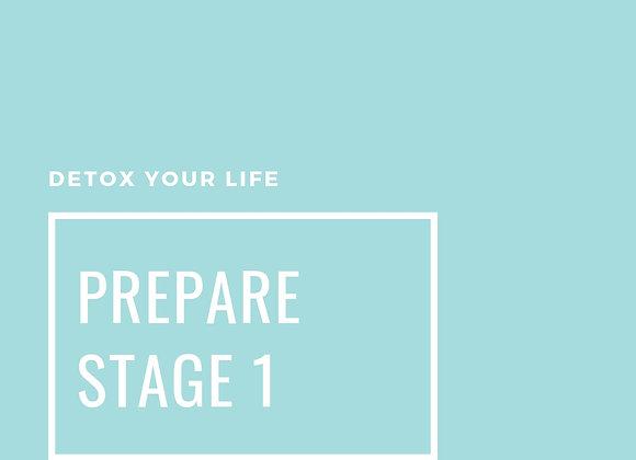 Prepare to Detox
