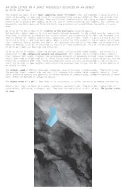TEXT: Open Letter, 16.Warp Rift