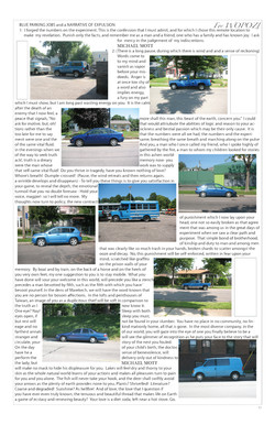 Blue Parking Lot Jobs and Narrative