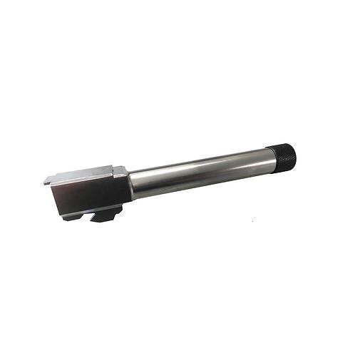 ストライカー9専用 サイレンサー対応アウターバレル(14mm逆ネジ)/シルバー