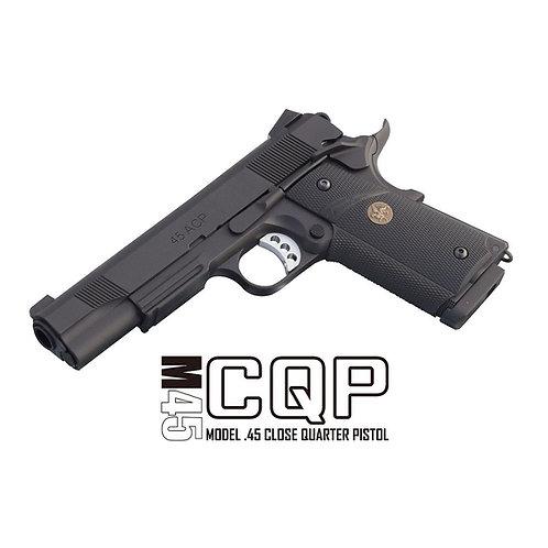 【2021年6月再販】M45CQP -Close Quarter Pistol- CO2 ブローバック