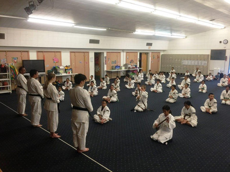 Congratulations to all the students of the Orange County Shorinji Kempo branch that passed 29 Kyu an