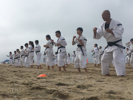 Shorinji Kempo Orange County Beach Clean Up