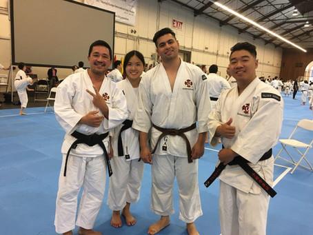 CONGRATULATIONS - Thomas Pham & Justin Nguyen for achieving their San Dan; third degree (3rd) Bl