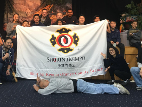 OC SHORINJI KEMPO COMMUNITY CLEANUP !