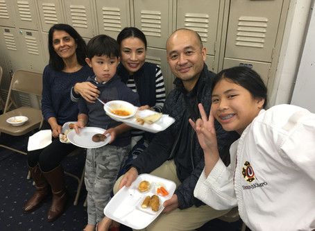 Shorinji Kempo Orange County Year End Practice and Party!!!