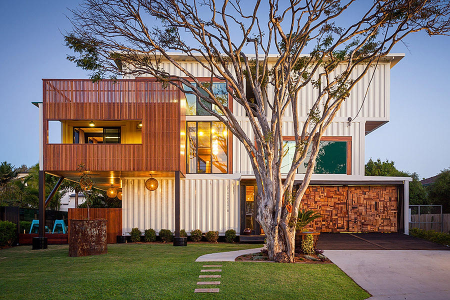 example of shipping container homes