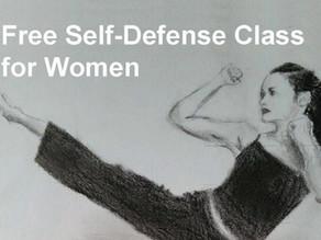 Free Self-Defense Class for Women