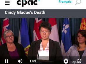 AWCEP speaks to Supreme Court of Canada re Racist Misogyny & Murder Trial of Indigenous Woman