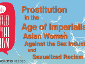 World Social Forum: Prostitution in the Age of Imperialism
