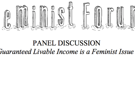 Guaranteed Livable Income is a Feminist Issue