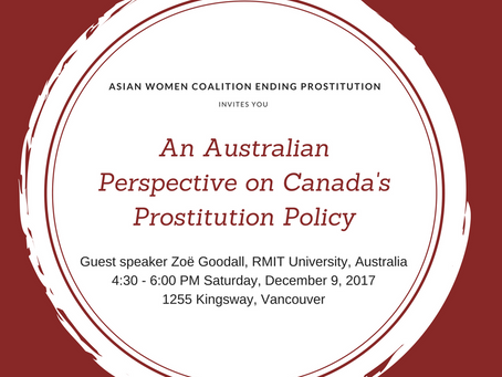 An Australian Perspective on Canada's Prostitution Laws