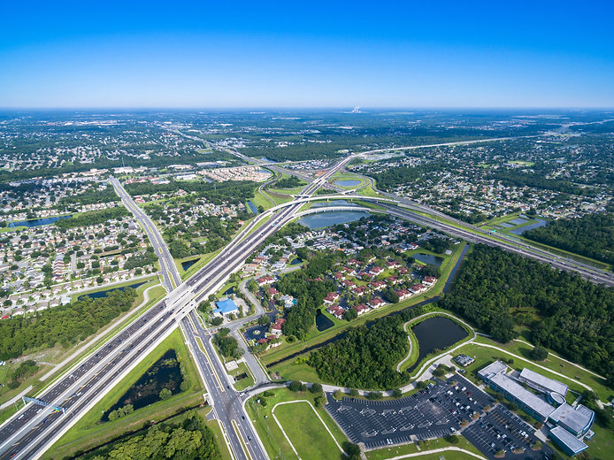 Aerial view of 408 East West Expressway