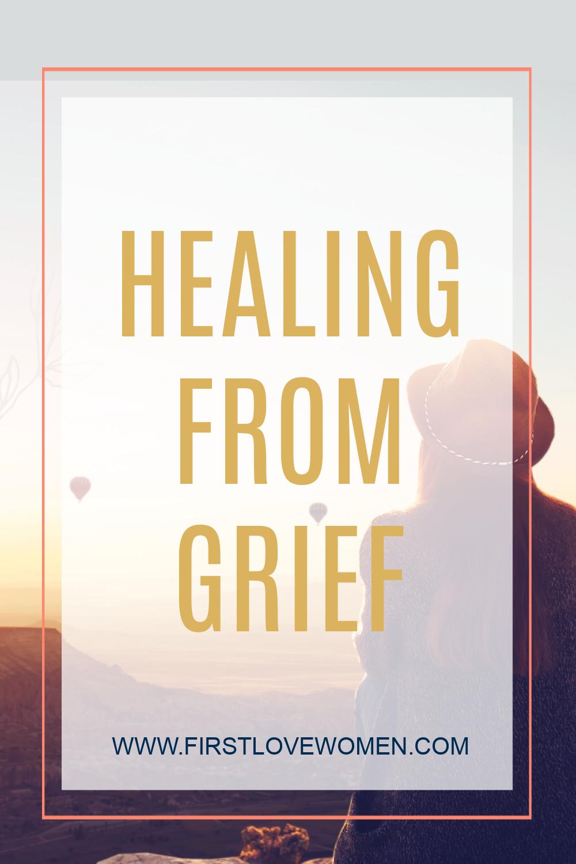 Embracing Grief to Heal, Christian Growth Mindset, Spiritual Growth, God's Love