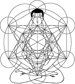 Meditator with Metatron's Cube.png