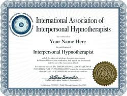 IAIH Interpersonal Hypnotherapist JPG Generic