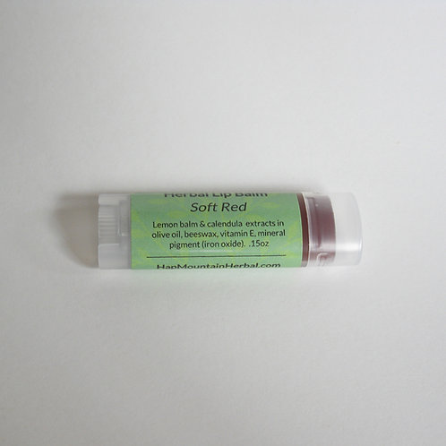 Herbal Lip Balm Soft Red