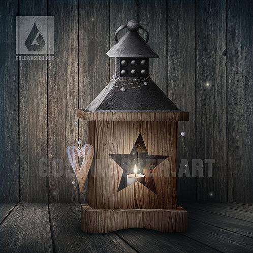 CU/PU Candle lamp