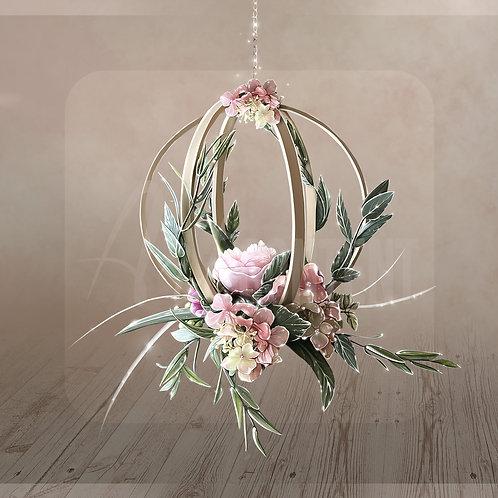 CU/PU Hanging decorative flower