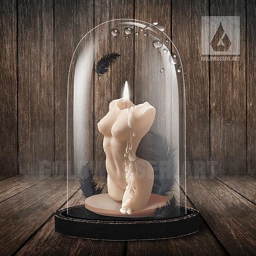 CU/PU Female body candle