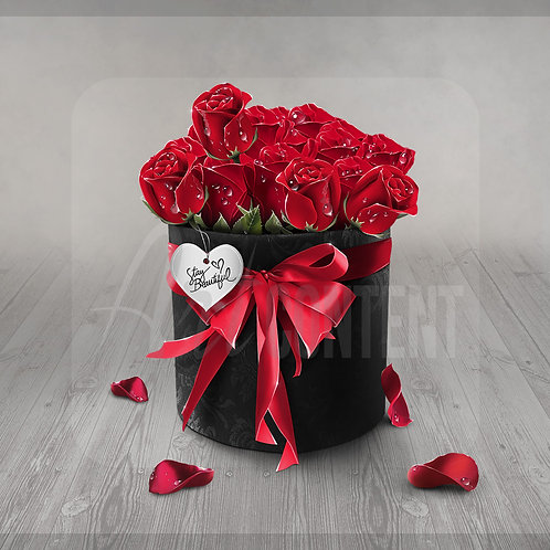 CU/PU Roses in a gift box