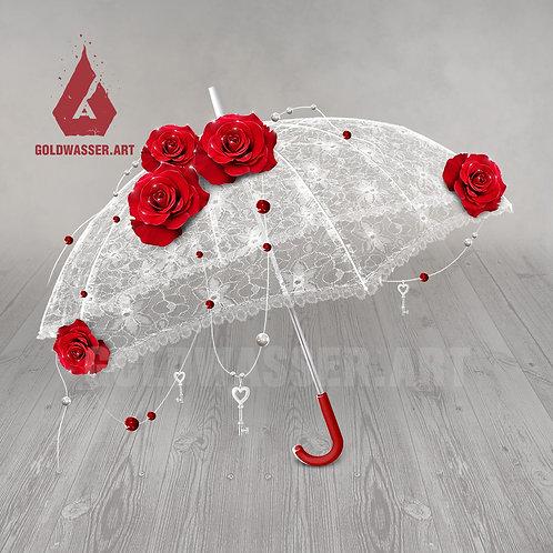 CU/PU Romantic umbrella