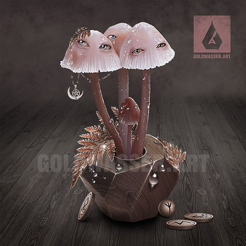 CU/PU Magic mushrooms