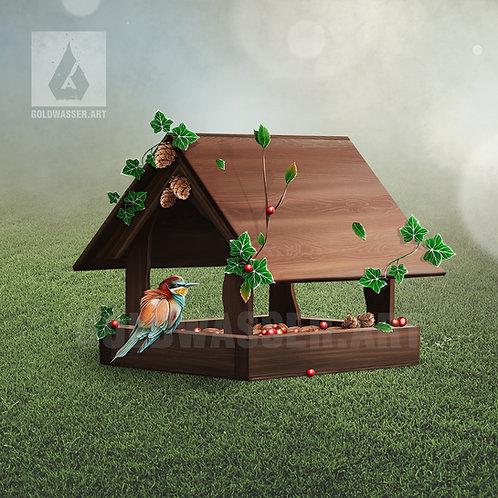 CU/PU Bird feeder