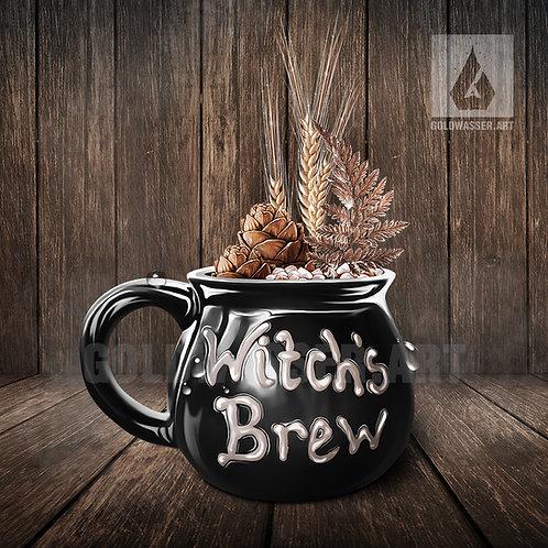 CU/PU Witch's bowl