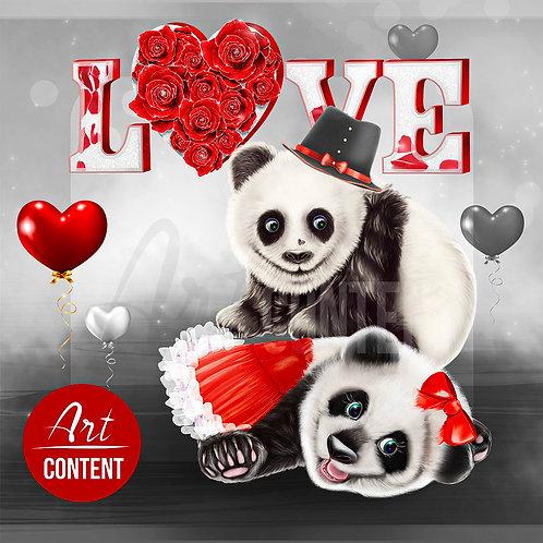 CU/PU Panda Love