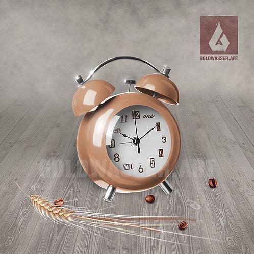 CU/PU Alarm clock