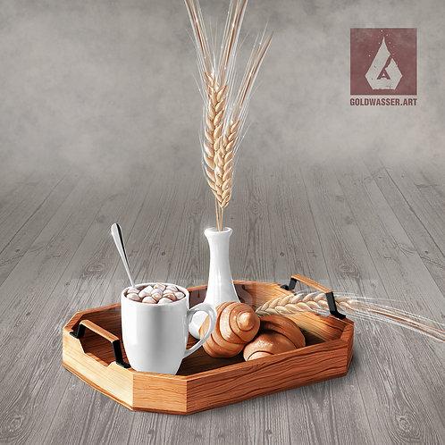 CU/PU Breakfast tray