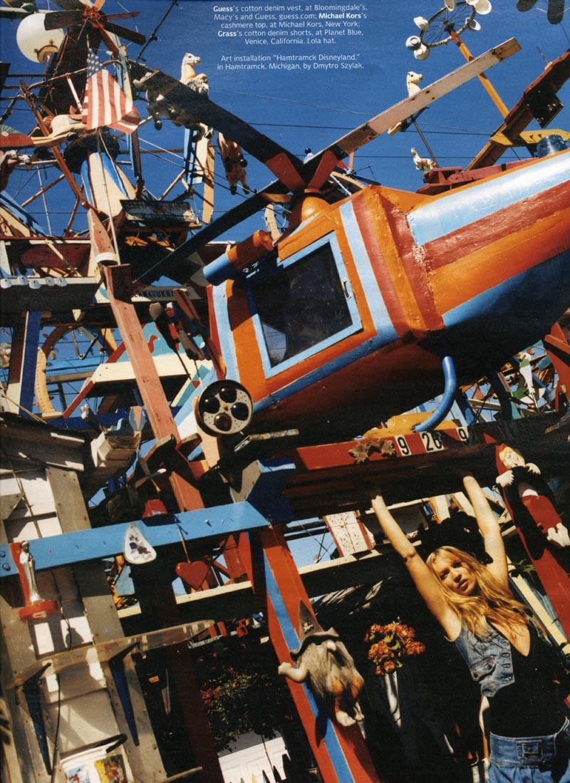 Bruce Weber - W Magazine - Kate Moss